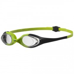 Lunettes de natation Arena Spider Junior vert
