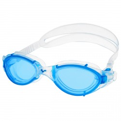 Swimming goggles cap Arena Nimesis X-Fit white