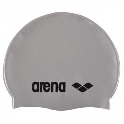 Gorro de natación Arena Classic Silicone gris