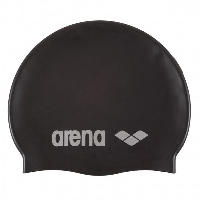 Bonnet de bain Arena Classic Silicone noir