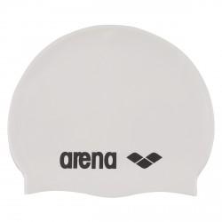 Bonnet de bain Arena Classic Silicone blanc