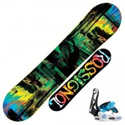Snowboard Rossignol Scan Amptek + fijaciones Rookie S