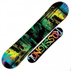Snowboard Rossignol Scan Amptek nero-verde