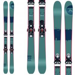 Ski Rossignol Scratch + fixations LX12