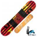 Snowboard Rossignol Scan Small + fijaciones Rookie S