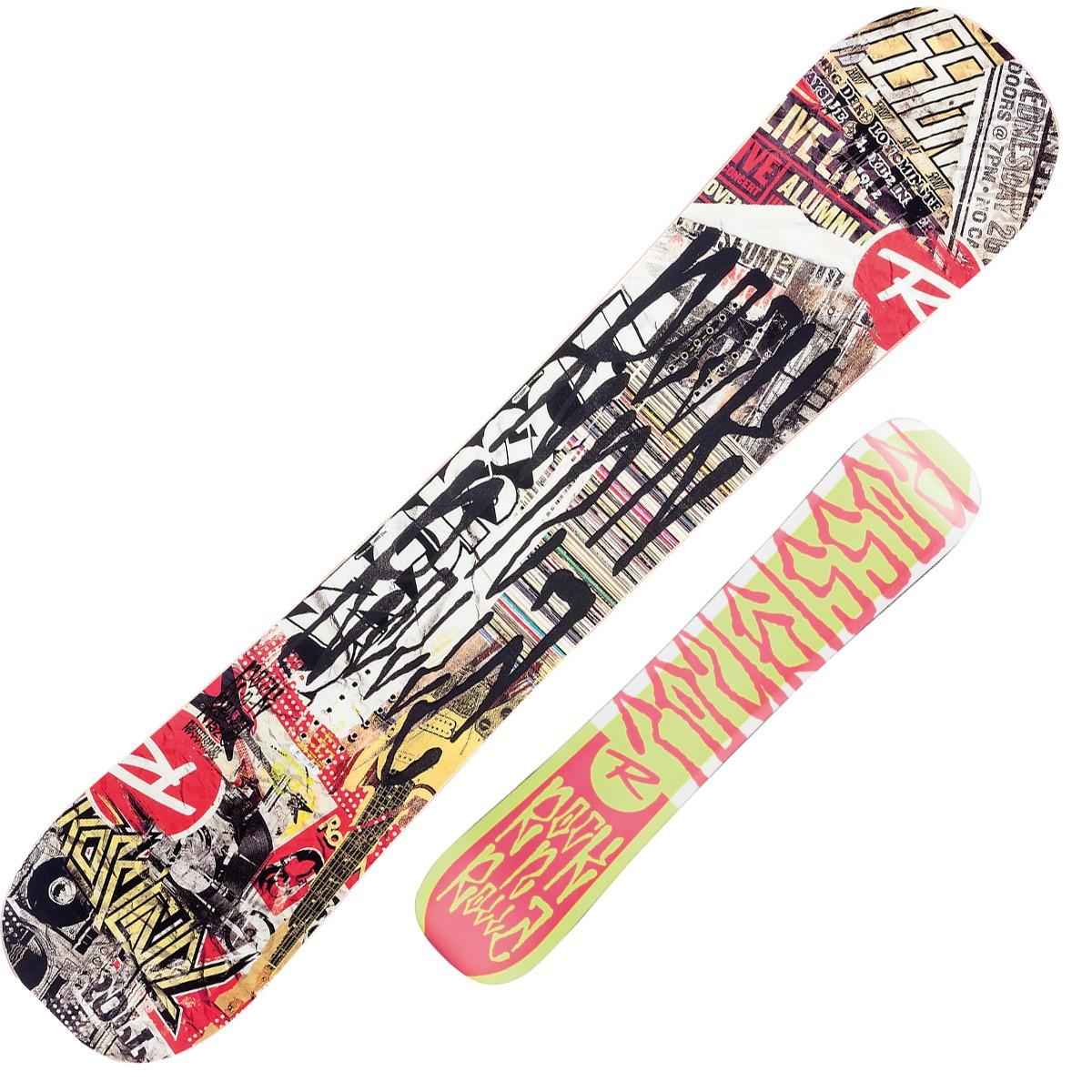 Snowboard Rocknrolla Amptek (Colore: nero-giallo, Taglia: 148)