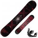 Snowboard Rossignol Circuit + fijaciones Battle M/L