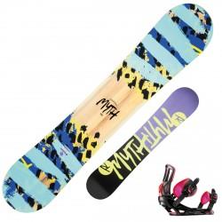 Snowboard Rossignol Myth + fixations Myth S/M