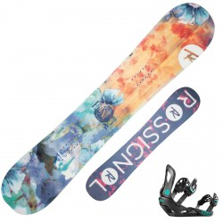 Snowboard Rossignol Frenemy + fijaciones Voodoo S/M