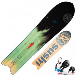 Snowboard Rossignol XV Sushi LF + fixations XV M/L