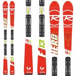 Esquí Rossignol Hero Fis SL (R21 Racing) + fijaciones Spx10