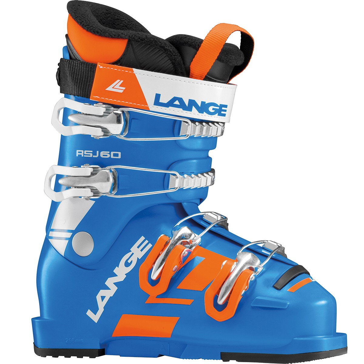 Scarponi sci Lange Rsj 60 (Colore: blu-arancio, Taglia: 26)
