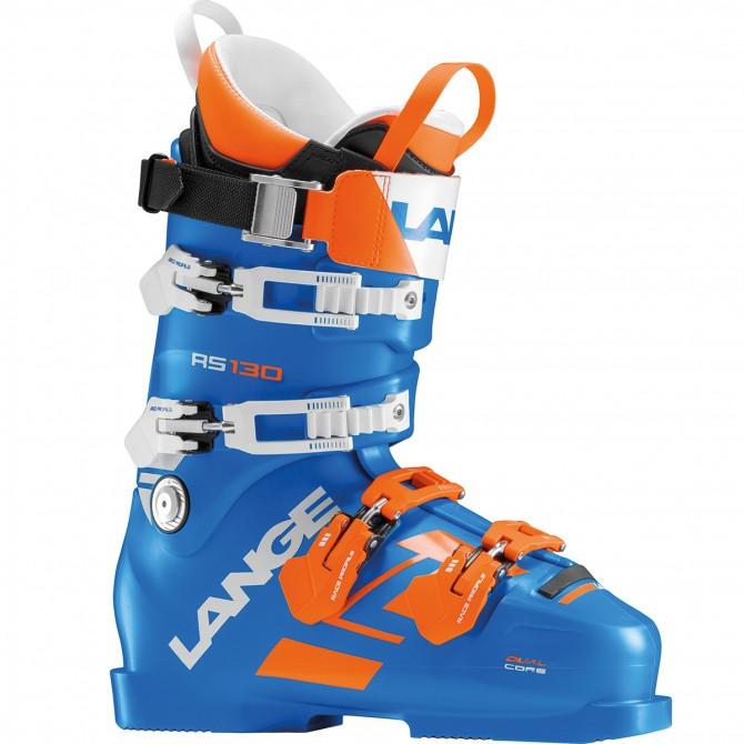 Scarponi sci Lange Rs 130 blu-arancio