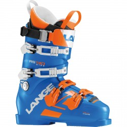 Scarponi sci Lange Rs 130 wide blu-arancio