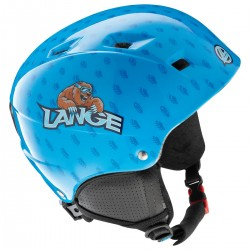 casque ski Lange Team Junior bleu