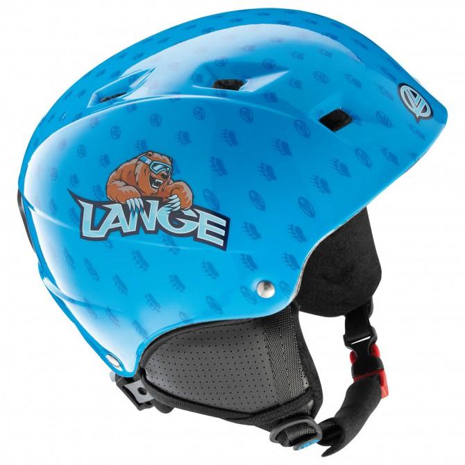 casco sci Lange Team Junior blu