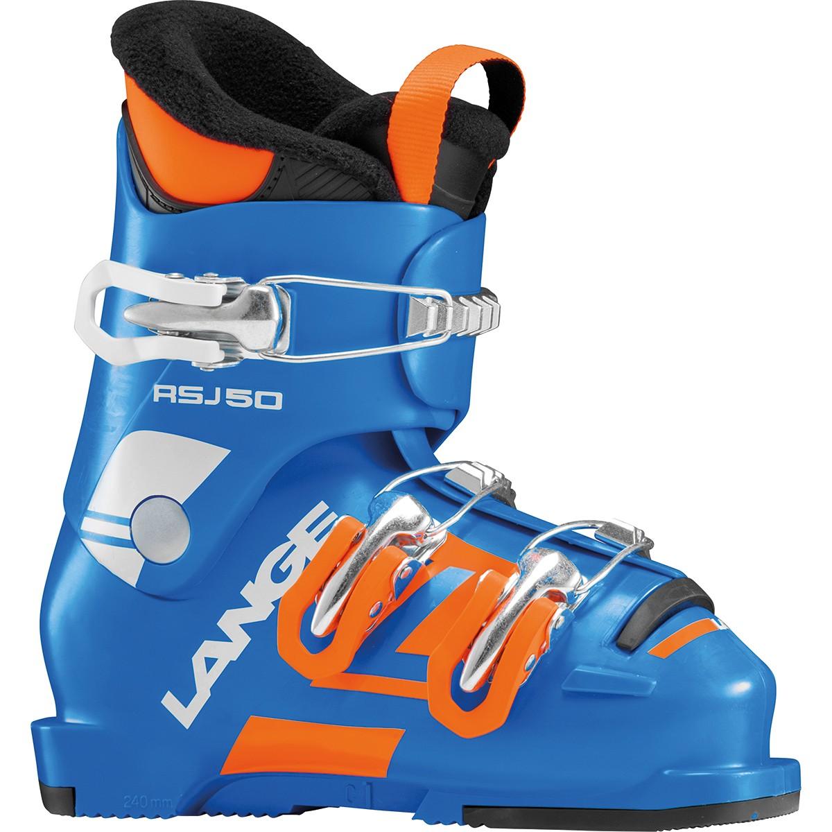 Scarponi sci Lange Rsj 50 (Colore: blu-arancio, Taglia: 18)