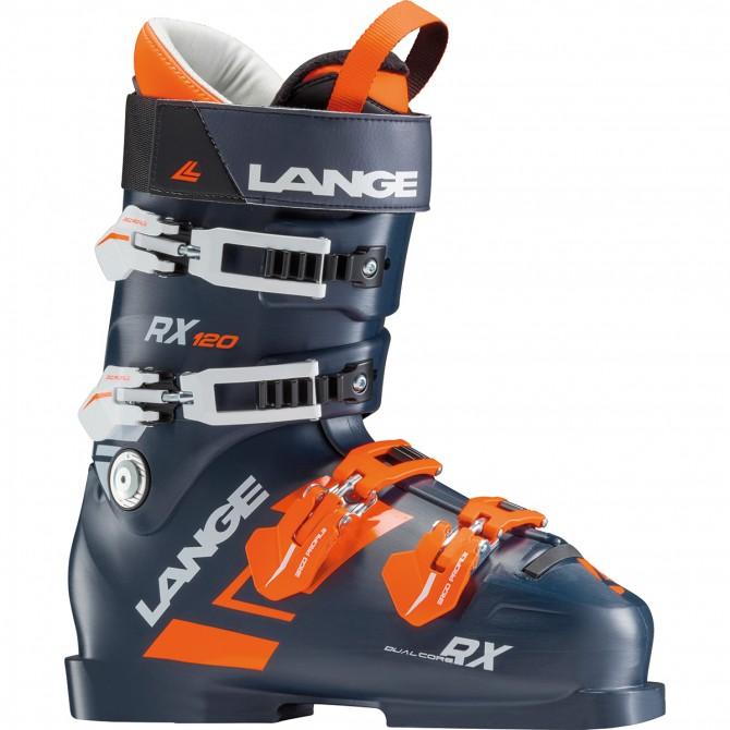 Scarponi sci Lange Rx 120 nero-arancio