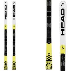 Esquí Head WC Rebels iGS RD Team JRP RDX + fijaciones Freeflex Evo 11