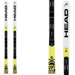 Ski Head WC Rebels iGS RD Team JRP RDX + fixations Freeflex Evo 11