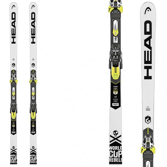 Ski Head WC Rebels iGS RD SW RP WCR 14 + fixations Freeflex Evo 20X RD