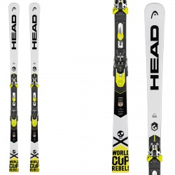 Ski Head WC Rebels iSpeed Pro + fixations Freeflex Evo 16 Brake 85