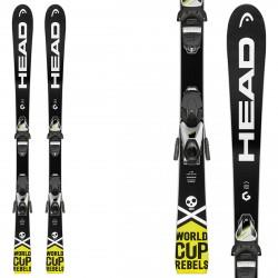 Esquí Head WC iRace Team SLR 2 + fijaciones SLR 7.5 AC BR 78