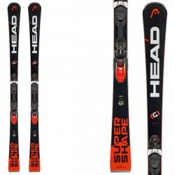 Ski Head Supershape i.Rally + fixations Prd 12 Brake 85