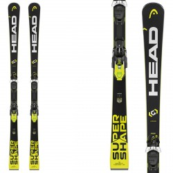 Ski Head Supershape i.Speed Sw + fixations Prd 12 Brake 85