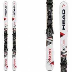 Ski Head Instinct 83 + bindings PR 11 Brake 85
