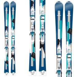Ski Rossignol Unique 6 + bindings Xelium Saphir 110