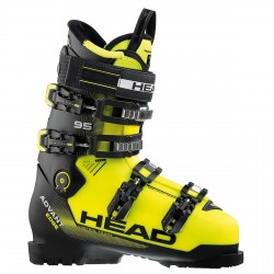 Botas esquí Head Advant Edge 95 amarillo