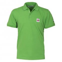Polo Canottieri Portofino Lincoln con blasón Hombre verde
