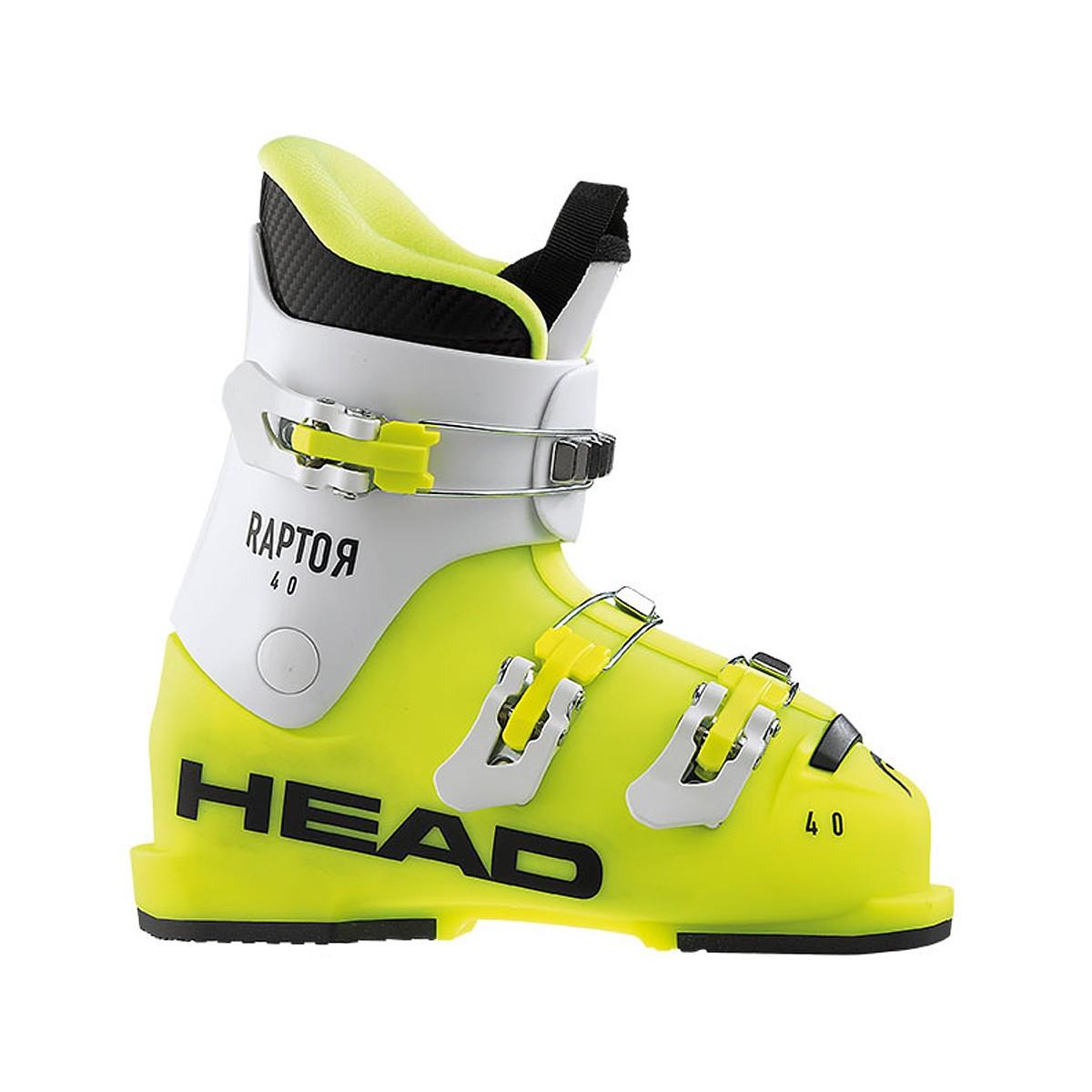 Scarponi Sci Head Raptor 40 (Colore: giallo-bianco, Taglia: 24.5)