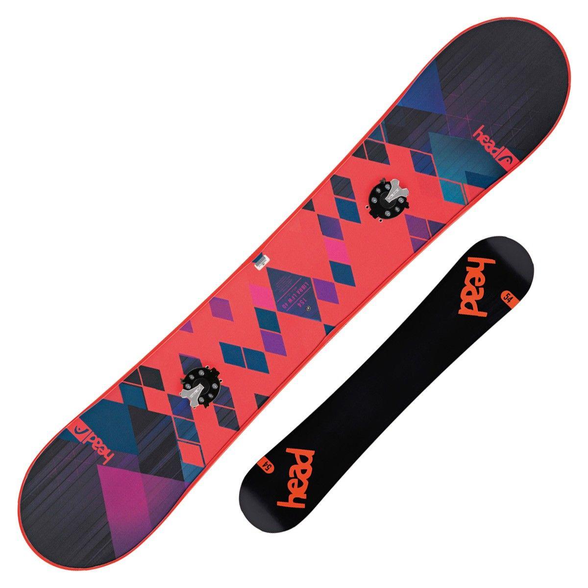 Snowboard Head Libra Lfw 4D + Speed Disc (Colore: blu fantasia, Taglia: 146)