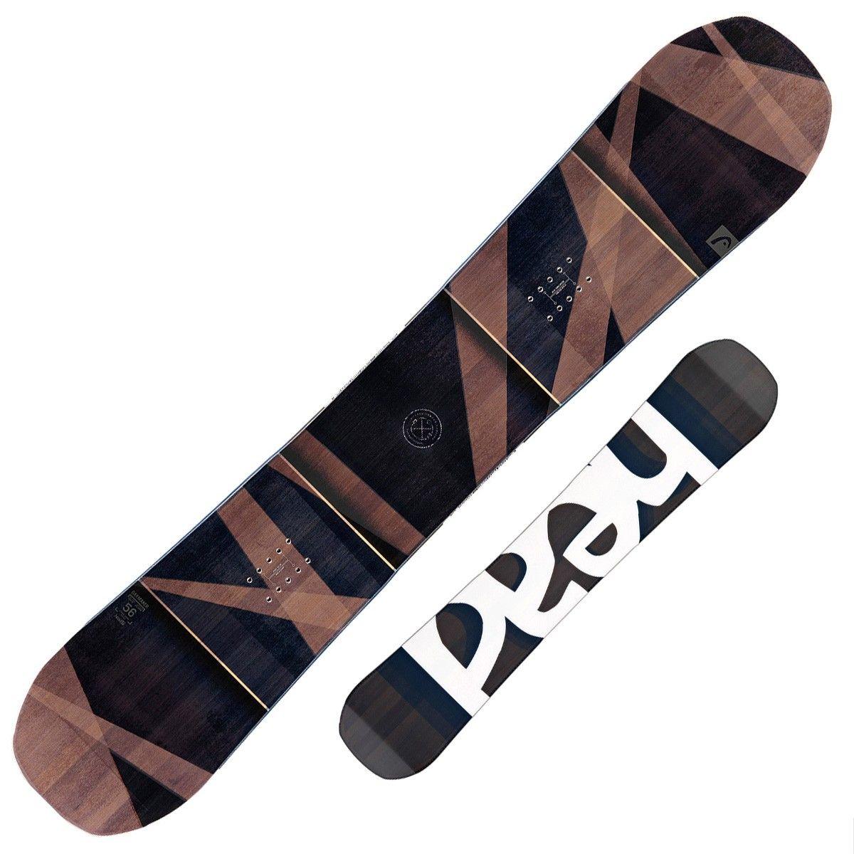 Snowboard Head Daymaker (Colore: grigio-marrone, Taglia: 156)