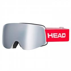 Maschera sci Head Infinity FMR argento-rosso