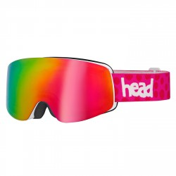 Maschera sci Head Infinity FMR + lente rosa