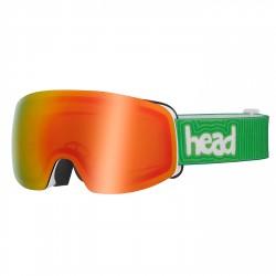 Masque ski Head Galactic FMR jaune