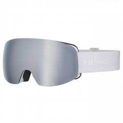 Máscara esquí Head Galactic FMR plata