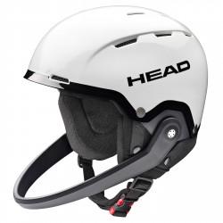 Casco sci Head Team SL + mentoniera bianco-nero