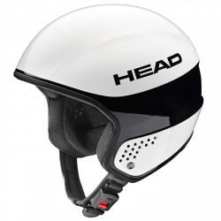 Casco sci Head Stivot Race Carbon bianco