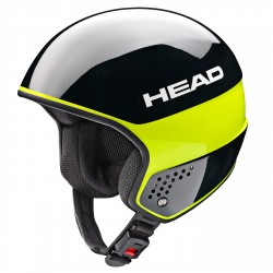 Ski helmet Head Stivot Race Carbon black-lime
