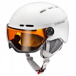 Casque ski Head Queen blanc
