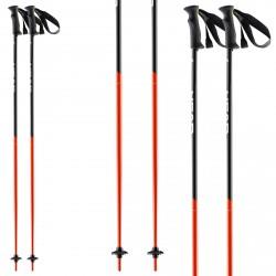 Bastoni sci Head Airfoil nero-rosso