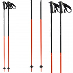 Bâtons ski Head Airfoil noir-rouge