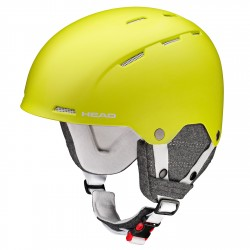 Casque ski Head Tucker Boa jaune