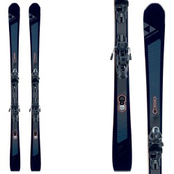Ski Fischer Brilliant Mtn + bindings Mbs 12