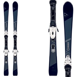 Esquí Fischer Brilliant My Turn + fijaciones My Mbs 10