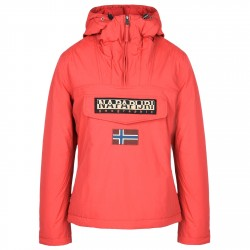Cagoule Napapijri Rainforest Winter Femme rouge